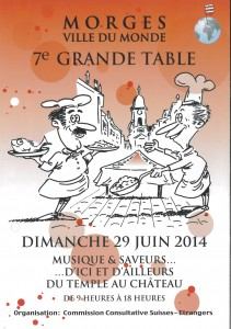 mORGES GRANDE TABLE